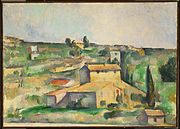 Paul Cézanne - Fields at Bellevue - Google Art Project.jpg
