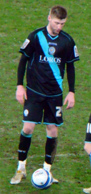 Paul Gallagher (footballer) - Gallagher playing for Leicester City in 2010