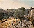 Paul Guigou - Le chemin dans la colline.jpg