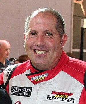 Paul Morris (racing driver) - Morris in 2008