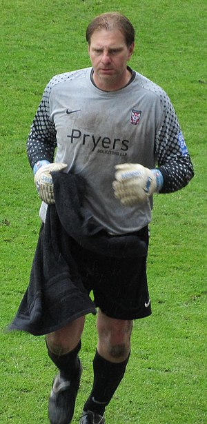Paul Musselwhite - Musselwhite playing for York City in 2012