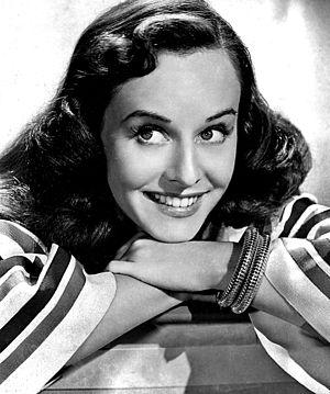 Paulette Goddard - Studio publicity portrait from the 1940s