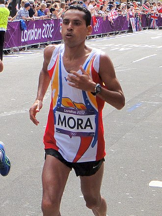 Venezuela at the 2012 Summer Olympics - Pedro Mora finished sixty-second in men's marathon.
