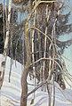Pekka Halonen - Day in March - A III 2693 - Finnish National Gallery.jpg