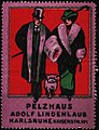 Pelzhaus Adolf Lindenlaub Karlsruhe (Reklamemarke).jpg