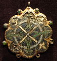 Pendant, 1200-1300 AD, French, gilded copper and enamel - Cleveland Museum of Art - DSC08555.JPG