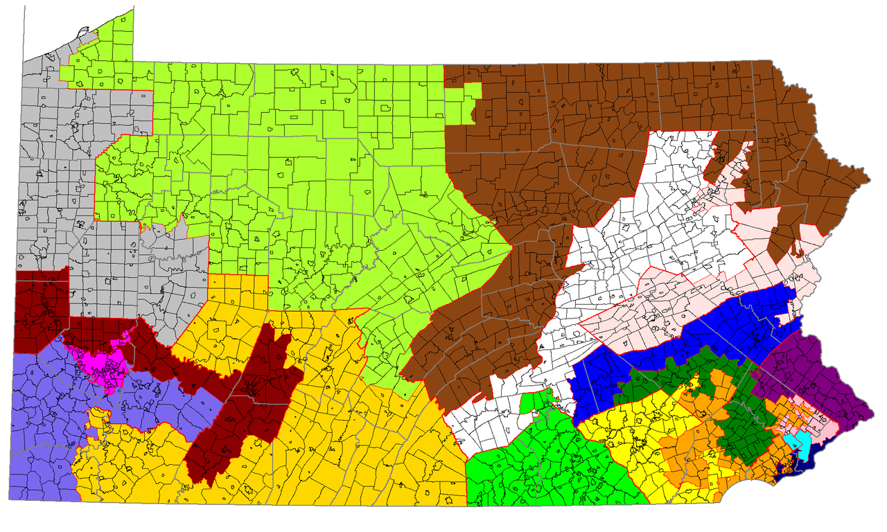 FilePennsylvania Congressional Districts 113th Congress