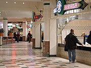Food court at the Fashion Centre at Pentagon City in Arlington, Virginia.