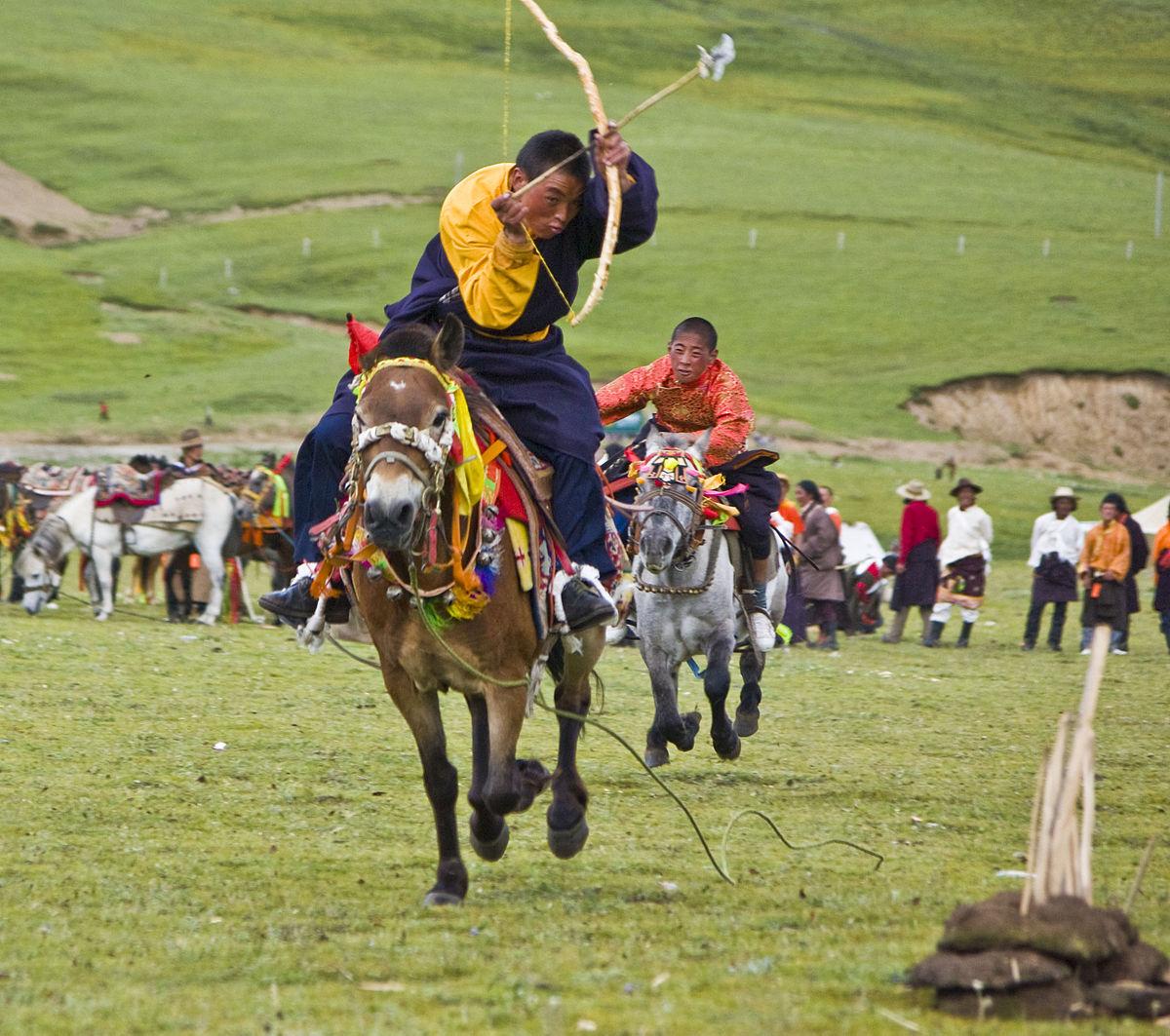 Mounted archery - Wikipedia