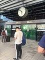 People waiting at Entrance 1A, THSR Taichung Station 2018-06-23.jpg
