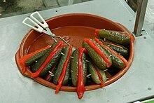 pepinos en vinagre propiedades