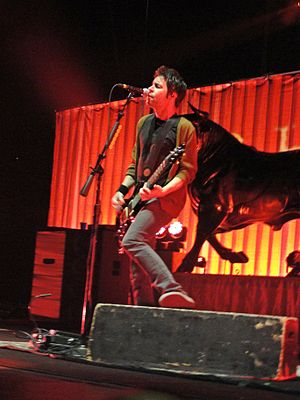 Chevelle (band) - Pete performing live at the Carnival of Madness tour in 2012 at the Laredo Energy Arena