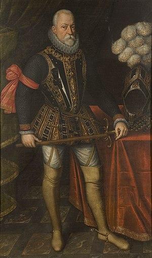 Peter Ernst I von Mansfeld-Vorderort - Peter Ernst I von Mansfeld painted by Antonio Moro.