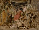 Peter Paul Rubens - The Triumph of Rome, The Youthful Emperor Constantine Honouring Rome - 837 - Mauritshuis.jpg