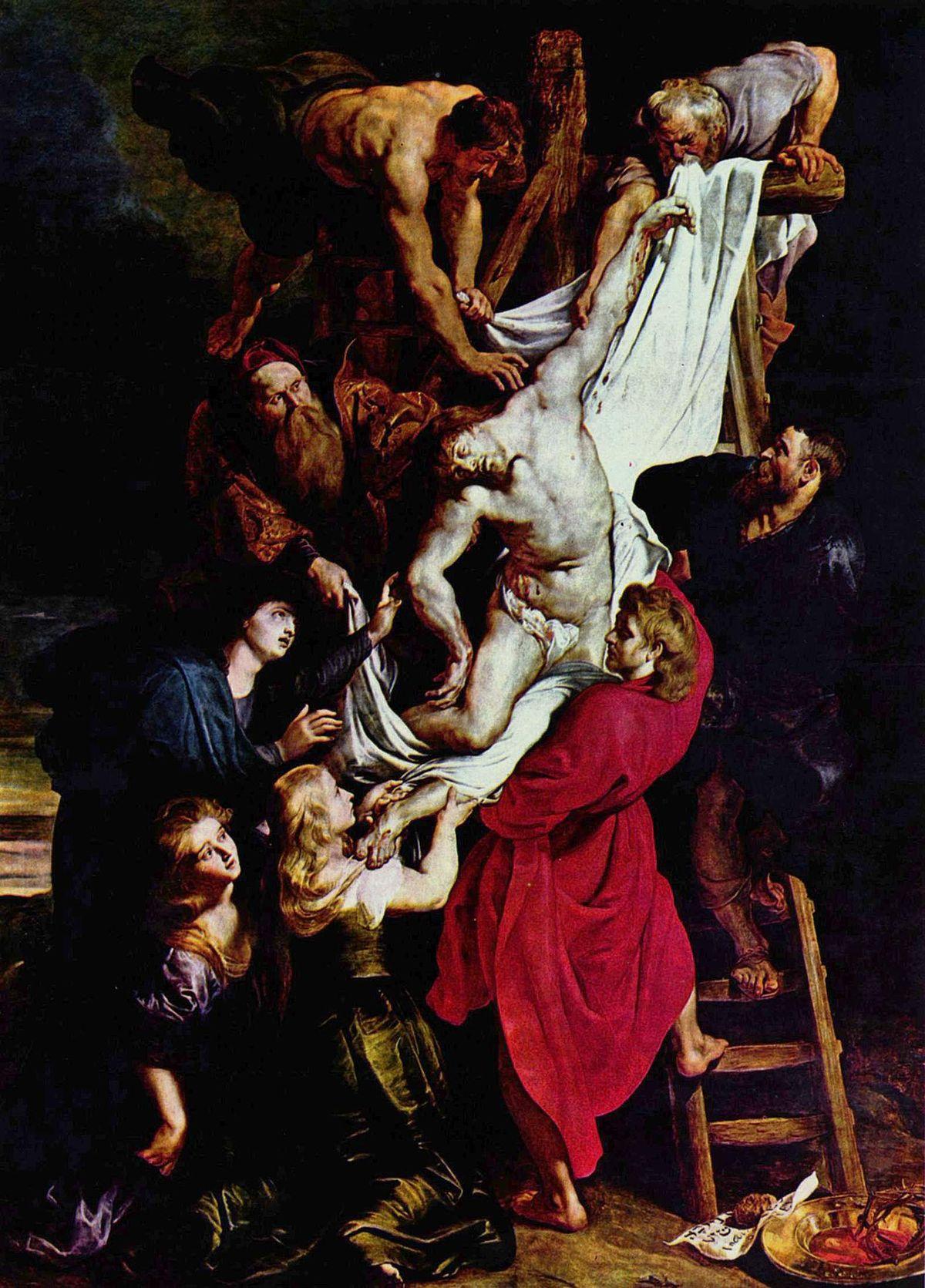 Descendimiento De Cristo Rubens Wikipedia La Enciclopedia Libre