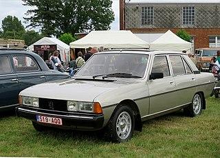 Peugeot 604 Motor vehicle