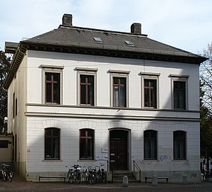 Domsheide - Image: Pfarrhaus der St. Petri Domgemeinde Bremen, Domsheide 2