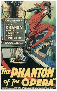 Phantom of the opera 1925 poster