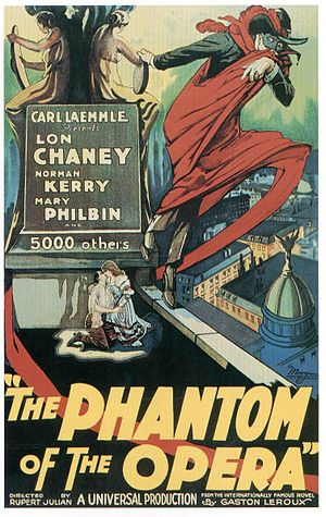 Gustav Hinrichs - The Phantom of the Opera, poster