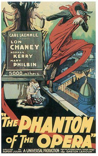 Gustav Hinrichs - The Phantom of the Opera, poster