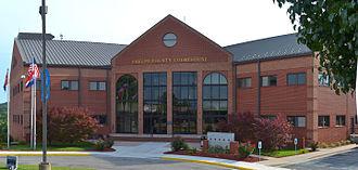Phelps County, Missouri - Image: Phelps County new courthouse 20150715 8302