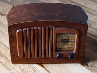 All American Five - The Philco PT-44 is an example of the All American Five radio set.  This set deviates from the more usual AA5 in that it features an Octode mixer though it still operates on the pentagrid principle