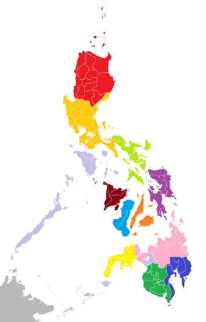 Philippine presidential election - Image: Philippine election corridors