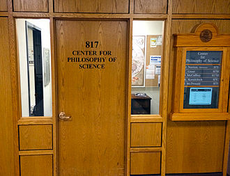 Center for Philosophy of Science - Home of the University of Pittsburgh's Center for Philosophy of Science on the eighth floor of the Cathedral of Learning