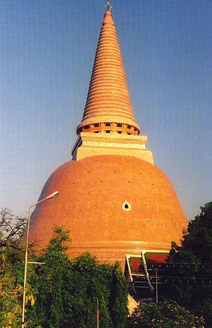 Nakhon Pathom - Image: Phra Pathom Chedi