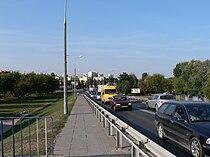 Piastow, z wiaduktu na polnoc.jpg