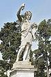 Piazza del Popolo statua di Bacco con cornucopia Roma.jpg