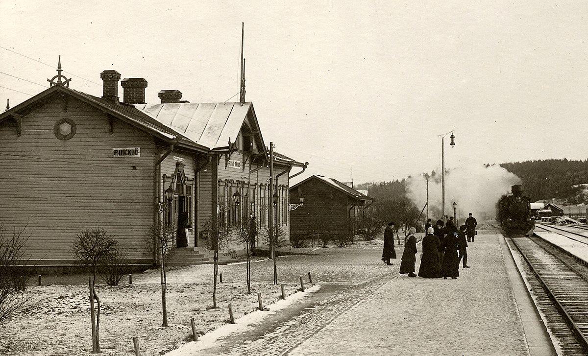 Piikkiön rautatieasema – Wikipedia c335c2d545