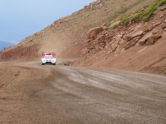 Pikes Peak Highway - Suzuki Grand Vitara at the 2006 Race to the Clouds