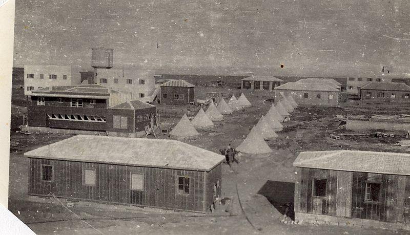 אוהלים,צריפים,מבנים,ברמת הכובש