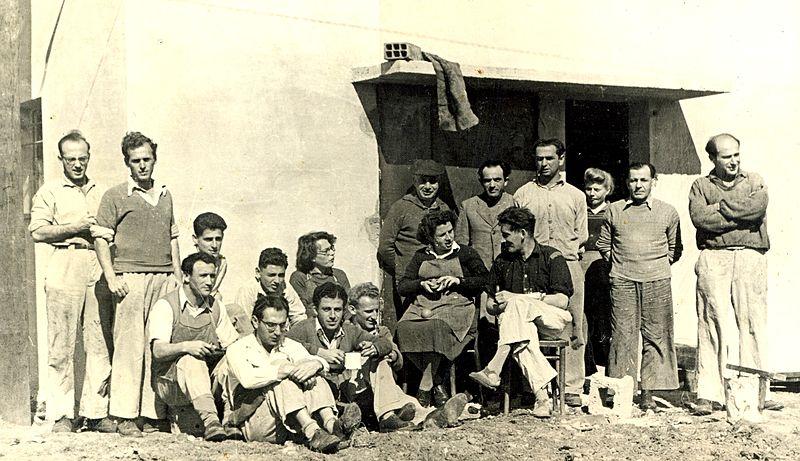 צוות הסנדלריה ב 1946אל