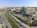 Pileckiego Street Warsaw 2021 aerial.jpg