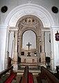 Pirano, san francesco, interno, cappella con decori lombardeschi, xv-xvi secolo 03.jpg