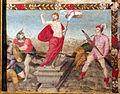 Pittore tosco-emiliano, misteri del rosario, 1550-1600 circa 12 resurrezione.JPG