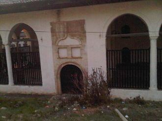 King Mosque, Berat - Pamje nga pjesa jugore e Xhamisë Mbret të Berait