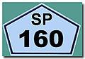 Placa da SP 160 REFON ..jpg
