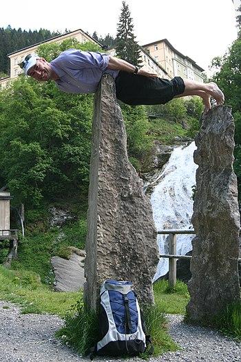 English: Planking in Gastein