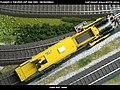 Plasser & Theurer USP 2000 SWS DB Bahnbau Kibri 16060 Modelismo Ferroviario Model Trains Modelleisenbahn modelisme ferroviaire ferromodelismo (14150518841).jpg