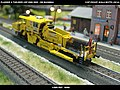 Plasser & Theurer USP 2000 SWS DB Bahnbau Kibri 16060 Modelismo Ferroviario Model Trains Modelleisenbahn modelisme ferroviaire ferromodelismo (14153860565).jpg