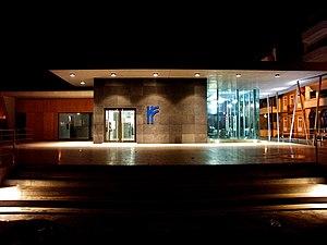 Espinho, Portugal - Image: Plataforma de passageiros na Apeadeiro de Espinho, 2008.11.01
