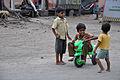 Playful Children - Barrackpore Trunk Road - Titagarh - North 24 Parganas 2012-04-11 9687.JPG