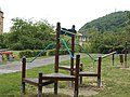 Playground at Tabán nature trail. - Budapest District I.JPG