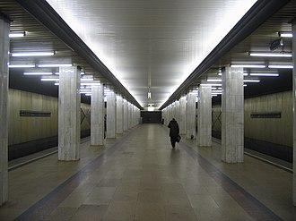 Bulvar Rokossovskogo (Sokolnicheskaya line) - Image: Podbelskogo mm