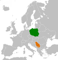 Poland Serbia Locator.png