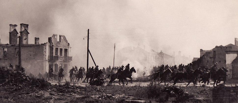 Polish cavalry in Sochaczew(1939)a