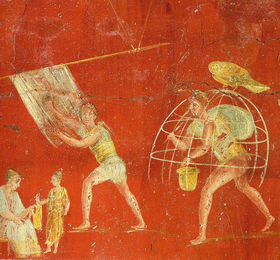 Pompeii - Fullonica of Veranius Hypsaeus 1 - MAN